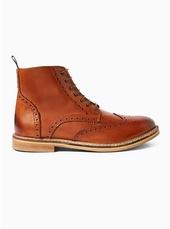 Tan Leather 'luna' Boots
