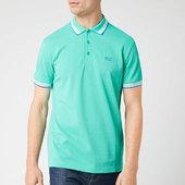 Boss Men's Paddy Polo Shirt - Light/pastel Green - S