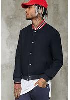 Woolen Bomber Jacket