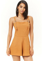 Square Neck Romper