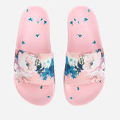 Ted Baker Women's Avelini Floral Slide Sandals - Light Pink - Uk 3 - Pink
