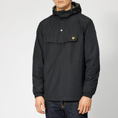 Lyle & Scott Men's Overhead Anorak - True Black - L - Black