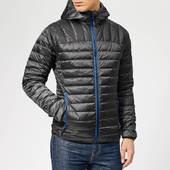 Superdry Men's Core Down Jacket - Black Marl - S - Grey