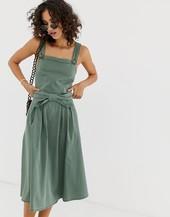 Vestido Midi Estilo Pichi De Vero Moda