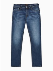 Jack & Jones Blue 'glen' Stretch Jeans
