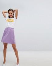 Minifalda Skater De Pieces