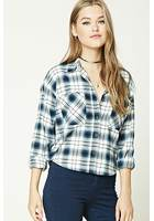 Boxy Flannel Check Shirt