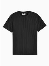 Black Pinstripe T-shirt