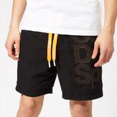 Superdry Sport Men's Tokyo Swim Shorts - Black - M - Black