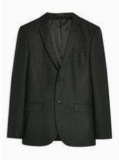 Charcoal Grey Skinny Blazer