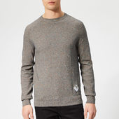 Barbour Beacon Men's Mix Knitted Jumper - Navy - M - Navy