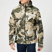 The North Face Men's Millerton Jacket - Peyote Beige Woodchip Camo Print - S