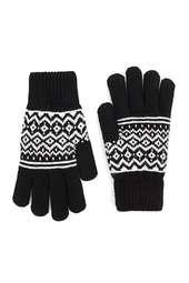 Geo Print Gloves