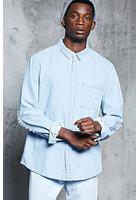 Distressed Chambray Shirt