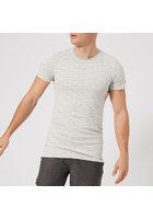 Superdry Sport Men's Gym Tech All Over Print Short Sleeve T-shirt - Vapour Grey Fleck - Xl - Grey