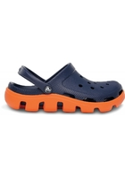 Crocs Clog Unisex Navy / Orange Duet Sport