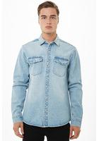 Snap-button Denim Jacket