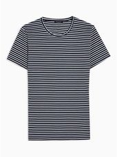 Selected Homme Black Stripe T-shirt