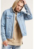 Zip-up Denim Jacket