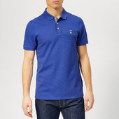Ted Baker Men's Vardy Polo Shirt - Dark Blue - 3/m - Blue