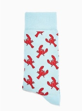 Blue Lobster Socks