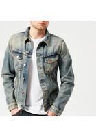 Nudie Jeans Men's Billy Denim Jacket - Shimmering Indigo - Xl - Blue