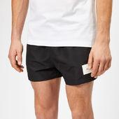 Calvin Klein Men's Short Swim Shorts - Black - S - Black