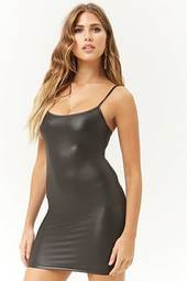 Kikiriki Coated Cami Bodycon Dress