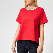 Levi's Women's Varsity T-shirt - Lychee Red - Xs - Red