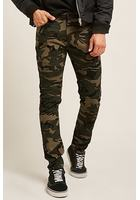 Camo Print Moto Pants