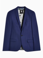 Twisted Tailor Blue 'ellroy' Blazer With Wool