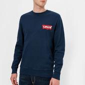 Levi's Men's Modern Crew Sweatshirt - Dress Blues - M - Blue