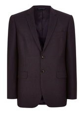 Charlie Casely-hayford X Topman Navy Red Birdseye Suit Jacket