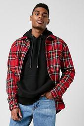 Tartan Plaid Slim-fit Shirt