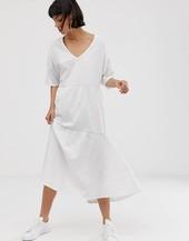 Vestido Veraniego Con Diseño Flameado A Capas De Selected Femme