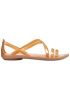 Crocs Sandal Women Dark Gold/gold Crocs Isabella Cut-out Strappy S