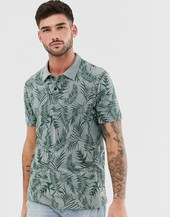 Polo Con Estampado Floral De Jack & Jones