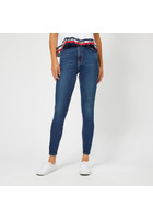 Levi's Women's Mile High Super Skinny Jeans - Breakthrough Blue - W26/l32