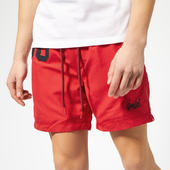 Superdry Men's Waterpolo Swim Shorts - Red Flag - S - Red