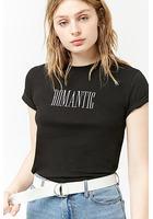 Romantic Graphic T-shirt