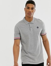 Polo Gris Con Cintas Originals De Jack & Jones
