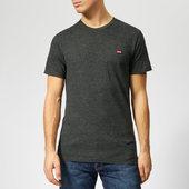 Levi's Men's Original T-shirt - Patch Obsidian Heather - S