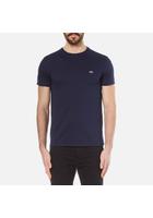 Lacoste Men's Classic Pima T-shirt - Navy - 3/s - Navy