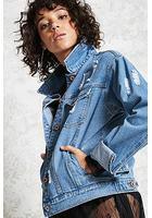 Distressed Denim Jacket