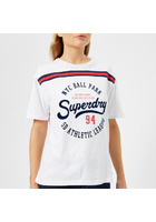 Superdry Women's Urban Logo T-shirt - Optic White - Uk 10 - White