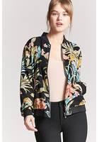 Floral Tiger Bomber Jacket