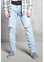 Acid Wash Slim-fit Jeans
