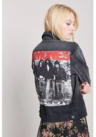 Ramones Distressed Denim Jacket