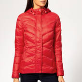 Barbour Women's Seaward Quilted Coat - Coastal Red - Uk 8 - Red