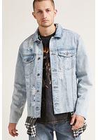 Raw-cut Denim Jacket